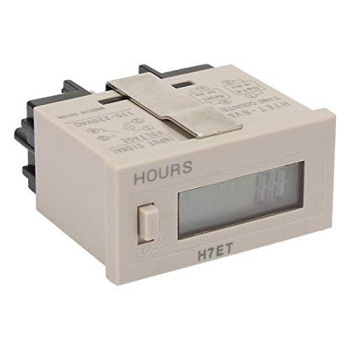 Acumulador eléctrico digital AC 220V para monitoreo inteligente(0.0 hours)