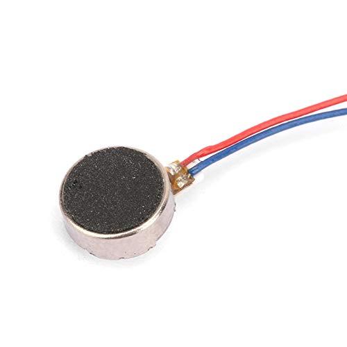3V 0.02W 0.08A Motor de teléfono celular DC Motor eléctrico Motor de...