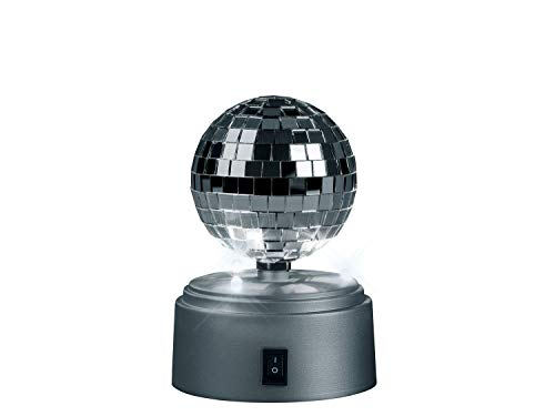 Livarno LED Partyleuchte rotierender Discokugel Lichteffekt Discokugel