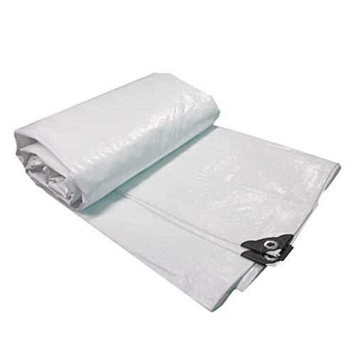 JT- Toile antisolaire Toile de Protection Solaire imperméable Bâche extérieure Bâche de Protection Solaire Parasol en Plastique Plusieurs Tailles Durable (Size : 5m*6m)