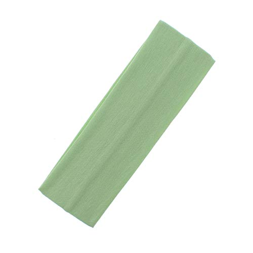Zac's Alter Ego Bandeau élastique en lycra pour déguisement des années 80 Largeur 7 cm - Vert - Taille unique