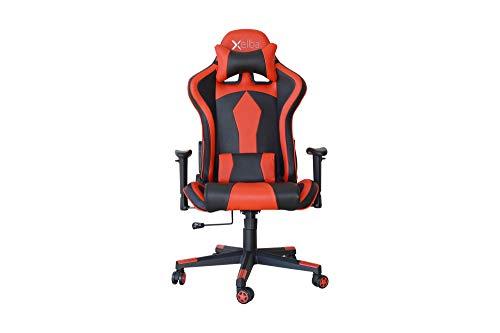Spelstol verkställande kontorsstol röd