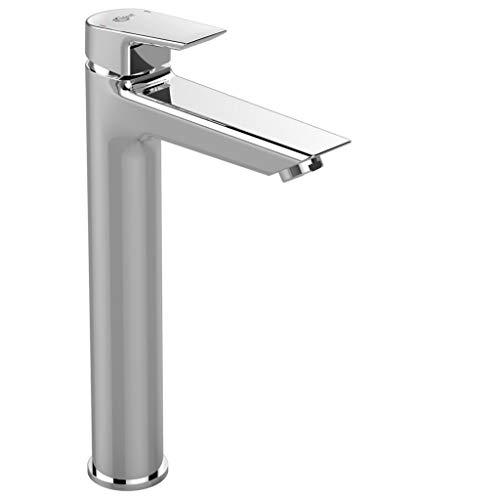 Ideal Standard A6552AA Ceramix Miscelatore monocomando lavabo da appoggio, senza asta di comando e scarico piletta, cromo