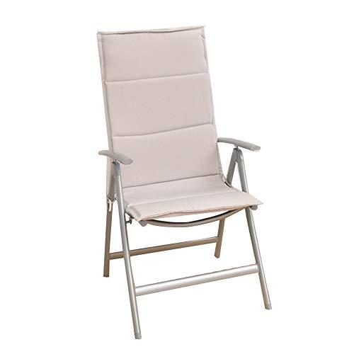 FUFU Tumbonas Jardin Exterior Sillas plegables del patio, sillas de patio portátil 7 niveles ajustables con respaldo alto del reposabrazos para acampar al aire libre, playa, jardín, piscina Tumbona Pl