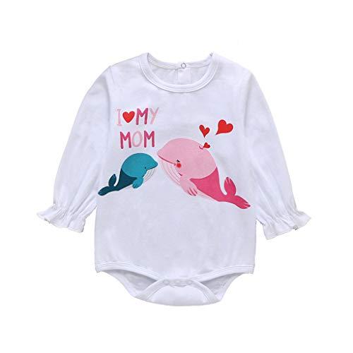 Moent Mameluco y mono para niños, para el día de San Valentín, con estampado de dibujos animados, ropa para el día de San Valentín, ropa para niño y niña
