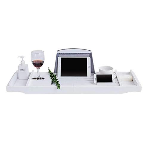 Yy-yy. Vasca da Top Shelf semplice Laptop Desk & Bed Cassetto Con allungabile Arms sovrapposti Lavabo stand Shampoo