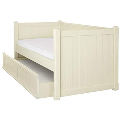 ASPACE Charterhouse Daybed Frame With Trundle in Antique White
