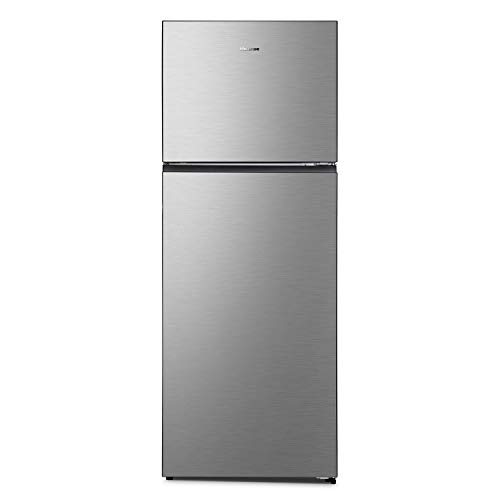 Hisense RT600N4DC2 - Nevera doble puerta A++, 466 litros, total no Frost, color inoxidable, 70,4 × 68,6 × 185 cm