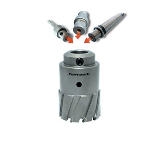 Power-Max 55 - Sierra de corona (metal duro, 55 mm de profundidad, 74 mm de diámetro)