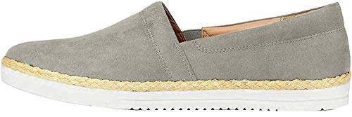 find. Slip On Alpargata, Gris Grey, 47 EU