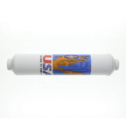 """Omnipure CL10ROT33-B 1/4"""" FPT Inline Filter"""