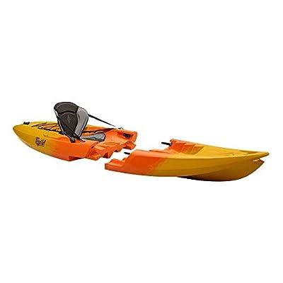 Point 65 N Tequila! GTX Solo Modular Kayak-Yellow/Orange