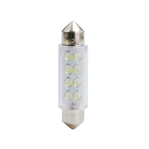 Planet Line PL024W Ampoules LED Navette C5W 12V, Blanc, Set de 2