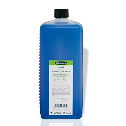 Airbrush Farben, Airbrush Kompressor, Airbrush Pistole, AERO CLEAN Rapid 1000ml, SCHMINCKE 50 606 Reinigungsmittel, Hilfsmittel, Reiniger für Farben