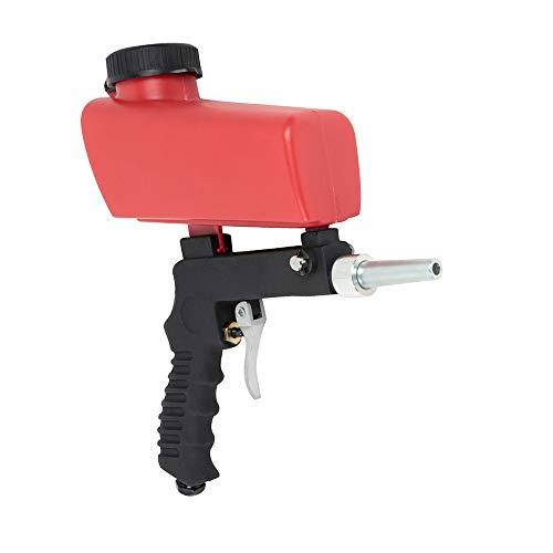 Pistola de arenado, de chorro, a gravedad, portátil, pistola abrasiva