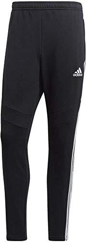 adidas Herren Hose Tiro 19 Cotton Pant, Black/White, L, FN2335