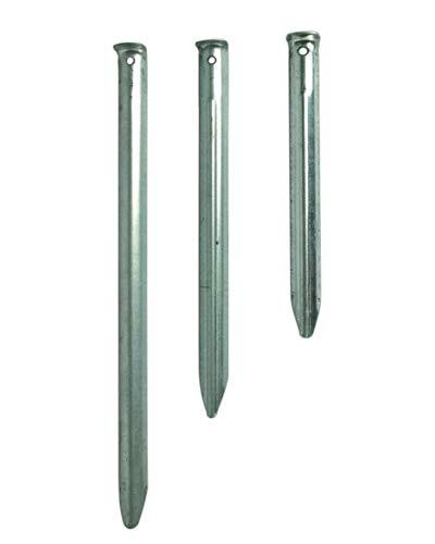 Mil-Tec Zelthering Stahl 30cm 5er Pack