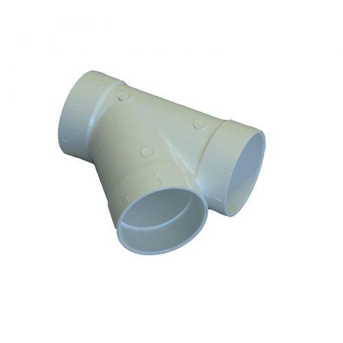 Abzweiger 45° für Zentralstaubsauger Vakuumrohrsystem, 2-Zoll (50,8mm)