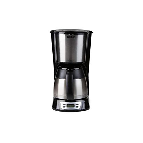 Cafetière DOMO - Inox - 1000W - 1,5L - DO709K
