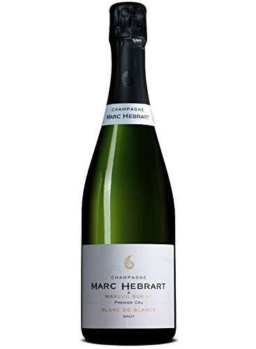 Champagne Blanc de Blancs Brut 1er Cru NV - Hebrart Marc