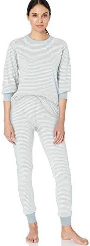 Moon and Back by Hanna Andersson Pyjama en coton bio avec pieds pour tout-petits b/éb/és 49 CM bleu 0 mois