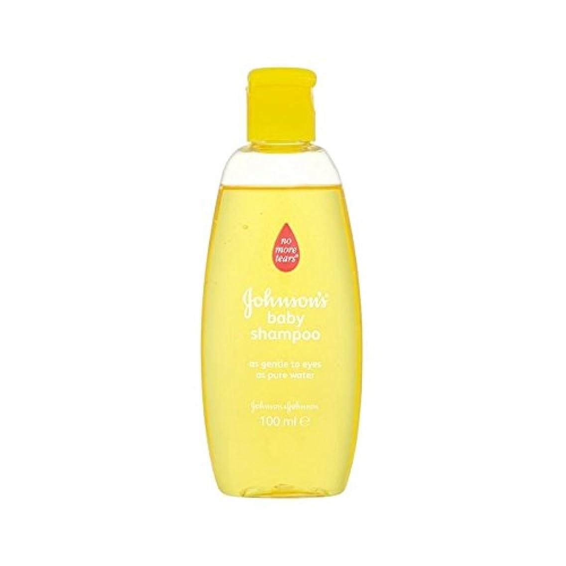 応用ワイヤーアサー金旅行シャンプー100ミリリットル (Johnson's Baby) (x 6) - Johnson's Baby Gold Travel Shampoo 100ml (Pack of 6) [並行輸入品]