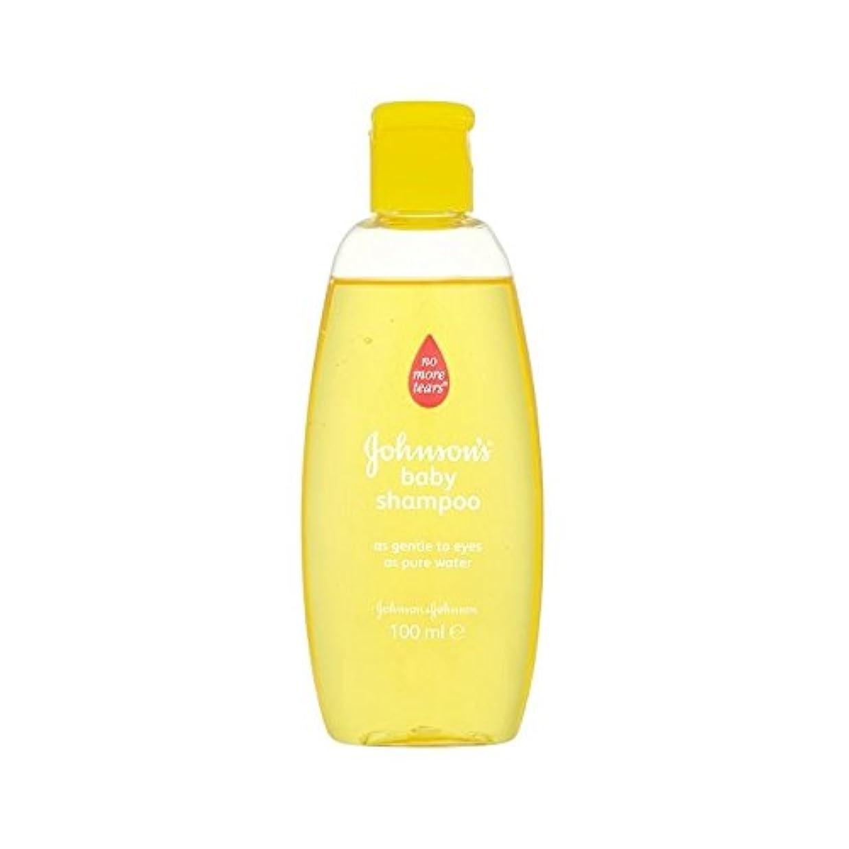 理論報復する入場料金旅行シャンプー100ミリリットル (Johnson's Baby) (x 6) - Johnson's Baby Gold Travel Shampoo 100ml (Pack of 6) [並行輸入品]