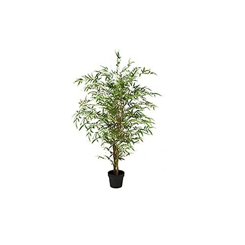 liulishop Árbol de simulación Árbol Artificial de 47 Pulgadas, Planta de bambú Artificial para Decoraciones de jardín de Patio, Muy Cerca de árboles Falsos Naturales. Árboles Artificiales