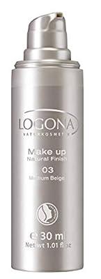 Logona Natural Finish Foundation, Medium Beige 30 ml from Logona