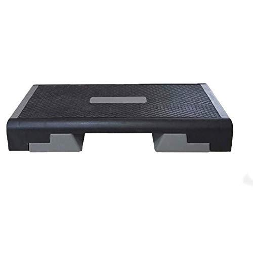 CHSSC 98CM Equipo de Ejercicio físico Paso aeróbico Altura Ajustable 3 Niveles 15 cm 20 cm 25 cm Tabla de Entrenamiento Cardiovascular - Banco de Yoga