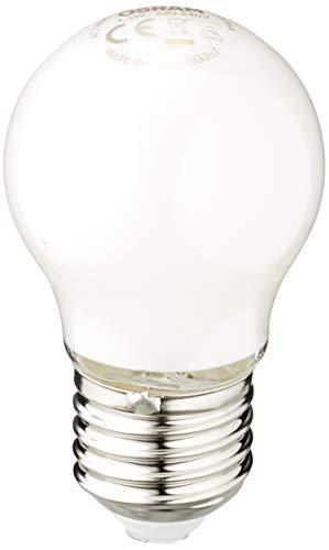 Osram Ampoule LED à Filament Dépolie   Culot E27   Forme Sphérique   Dimmable   Blanc Chaud 2700K   4,5W (équivalent 40W)