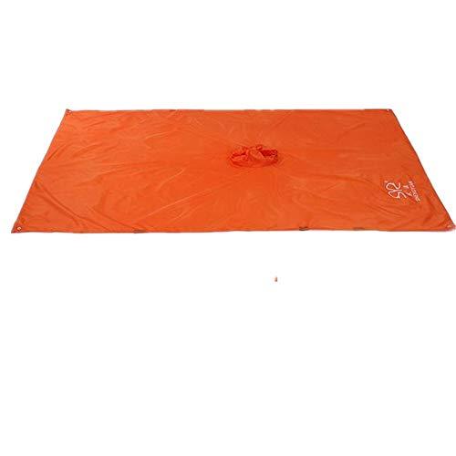 XGTsg Bouclier Imperméable Extérieur Pluie Camping Mat Beach Mat Peut Être Utilisé comme Un Mat/Store L'Alpinisme Imperméable 150 * 220 Cm,Orange