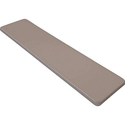 Inter-Fab TB6-7 Diving Board Replacement for In-Ground Pools, Techni-Beam, Tan