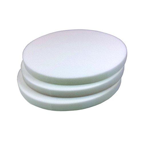 Schaumstoffplatte (Rund ) 40cm Stärke 3cm RG40 3er Set ( 39,55 € pro qm)