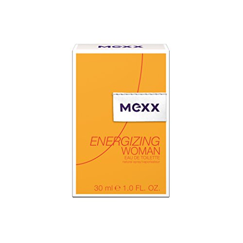Coty Beauty Germany GmbH, Consumer Mexx energizing woman - eau de toilette natural spray - belebend fruchtiges damen parfüm - 1 er pack 1 x 30ml