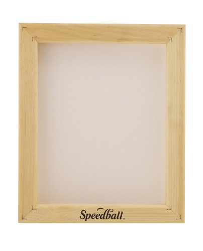 Speedball 110 Monofilament Printing Screen, 10-Inch-by-12-Inch