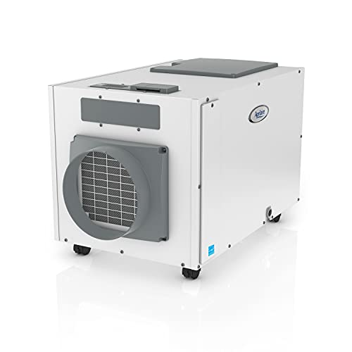 Aprilaire E130C Pro 130 Pint Dehumidifier with Casters for Crawl Spaces, Basements, Whole Homes, Commercial up to 7,200 sq. ft.