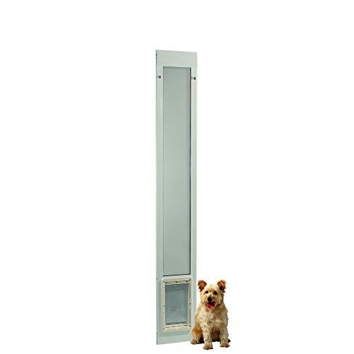 """Fast Fit Pet Patio Door 80"""" Medium (White)"""