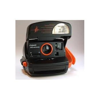 Lavorando compatta Polaroid una macchina fotografica pellicola istantanea 600-600 tipo di Pellicola-Blu