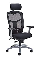 a019e3163f16 3. Office Hippo 24-Hour Executive Office Chair with Headrest and Adjustable  Arms