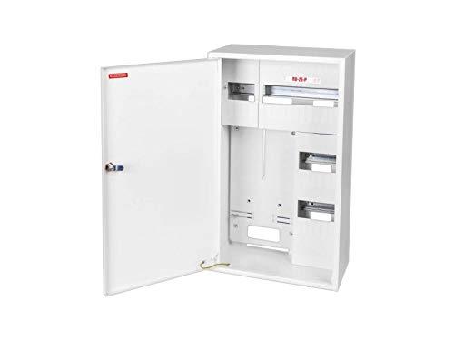 Zählerschrank Sicherungskasten Verteilerkasten AUFPUTZ 1-3 PHASEN IP30 (3PHASEN 25 Sich RU-25-P)