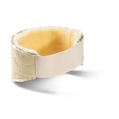Öko Nierengurt (S) für 75-95 cm Umfang - Flexigurt Lammfell Nierengurt Fellgurt Nierenschutz Nierenwärmer