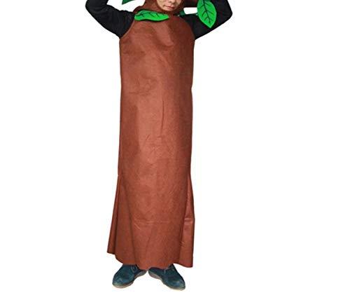 zhxinashu Unisex Adulto Albero Halloween Costumi Bambini Giochi di Ruolo Party Abiti (115-130CM)