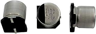 10x SMD Elko Kondensator 470µF 25V 105°C RVZ 25V471MHA5GY R2 d10x10,5mm 470uF