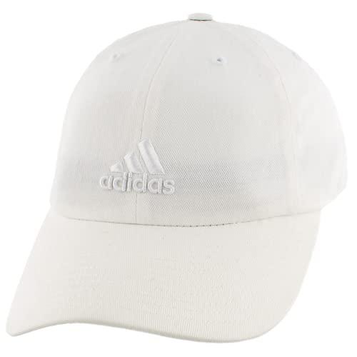 adidas Women's Saturday Cap, White/White, ONE SIZE