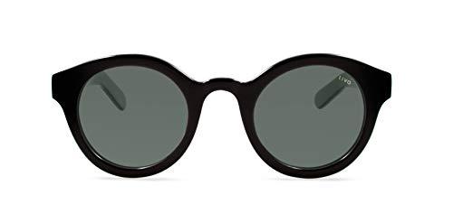 Óculos Louis Solar Preto, LIVO, Único
