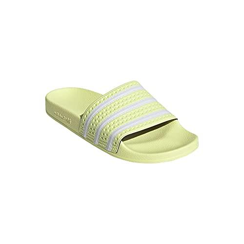 Adidas Chanclas Adilette, color Amarillo, talla 39 EU