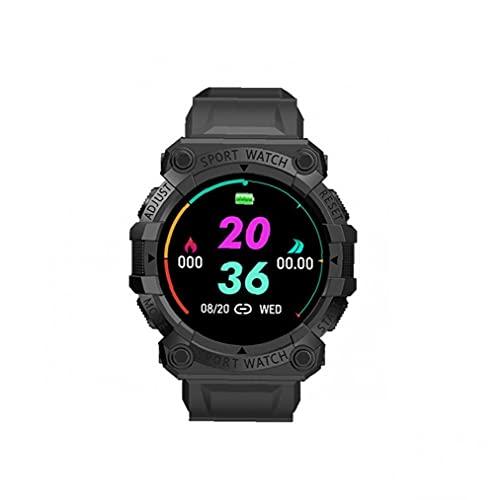 Reloj inteligente, brazalete inteligente movimiento inalámbrico ritmo cardíaco recordatorio reloj inteligente negro