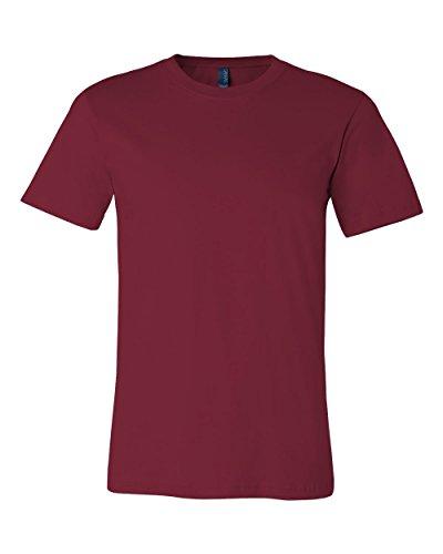 Bella + Canvas Womens Super Soft Athletic Yoke T-Shirt (3001C) -CARDINAL -S