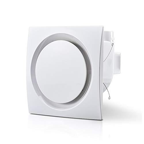 Ventilador Cuadrado Blanco Automático Extractor de Techo Extractor de Techo Persiana